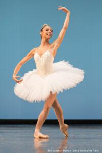 Une ballerine (danseuse) (© Sébastien mathé / Opéra national de Pais)