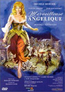 "Affiche du film franco-germano-italien ""Merveilleuse Angélique"", de Bernard Borderie (1965)"