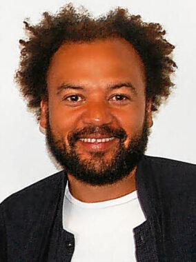 L'humoriste français Fabrice Éboué
