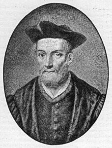 L'écrivain français François Rabelais