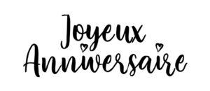 """""""Joyeux Anniversaire !"""" (© Au p'tit bonheur)"""