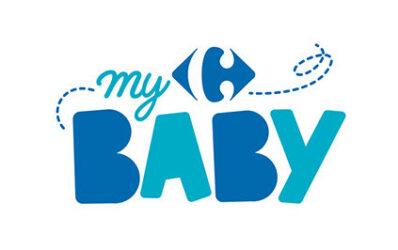 """Logotype de la marque distriuteur """"My Carrefour Baby"""""""