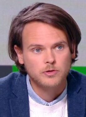 Le journaliste sportif français Olivier Bossard