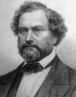 L'inventeur et industriel états-unien Samuel Colt