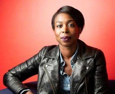 La journaliste sportive française Syanie Dalmat